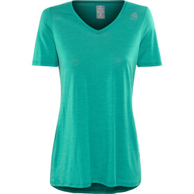 Aclima W's LightWool Loose Fit T-Shirt harbor blue